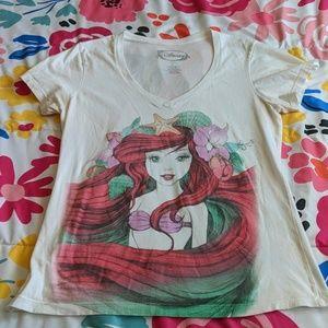 Little Mermaid V-neck Tee
